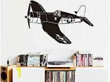 Fighter Jet Wall Mural Amazon Dalxsh Fashion Airplane Pattern for Kids