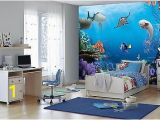 Finding Dory Wall Mural 368x254cm Girls Room Blue Decor Wall Mural Wallpaper Disney