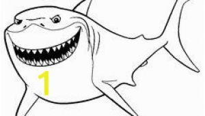 Finding Nemo Bruce Coloring Pages 35 Gambar Finding Nemo Coloring Pages Terbaik
