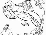 Finding Nemo Coloring Pages Pdf Finding Nemo and Turtle Coloring Pages Turtles