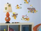 Finding Nemo Wall Mural Uk Room Studio Decoration Repositionable Vinyl Multiélément Disney Lion King Plastic Yellow Yellow 25×0 1×46 Cm