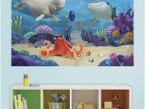 Finding Nemo Wall Mural Wall Stickers Hole In the Wall Finding Nemo Sticker Art