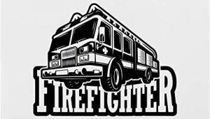 Fire Engine Wall Mural Amazon Fire Truck Wall Decal Fire Engine Vinyl Sticker