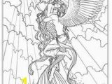 Fire Fairy Coloring Pages Wip Art Nouveau Fire by Saeriellyn On Deviantart