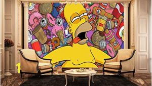 Fire Station Wall Mural Homer Simpson Wall Mural Kids Wall Murals Amazon Kitchen