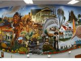 Fire Station Wall Mural Mural Trail