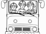 Fire Truck Coloring Book Pages Fireman Sam Fireman Sam and Friends On Fire Trucks Coloring Page