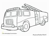 Fire Truck Coloring Page Truck Coloring Pages for Preschoolers Coloring Fire Truck Coloring