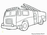 Fire Truck Coloring Pages for Preschoolers Coloring Fire Truck Coloring Pages