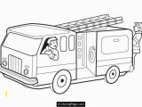 Fire Truck Coloring Pages for Preschoolers Fireman Coloring Pages Printable