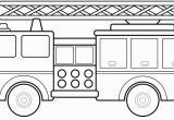 Fire Truck Coloring Pages for Preschoolers Firetruck Coloring Page Fire Truck Coloring Pages to Print Free Fire