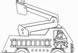 Fire Truck Coloring Pages for Preschoolers Free Fire Truck Coloring Pages Printable Coloring Chrsistmas
