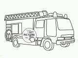 Fire Truck Coloring Pages for Preschoolers Truck Drawing for Kids at Getdrawings