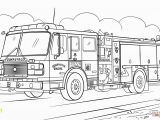 Fire Truck Coloring Pages to Print Fire Truck Coloring Page