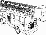 Fire Truck Coloring Pages to Print Firetruck Coloring Page