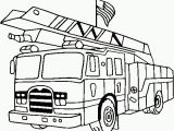 Fire Truck Coloring Pages to Print Get This Fire Truck Coloring Page Line Printable