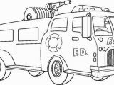 Fire Truck Coloring Pages to Print Get This Line Printable Fire Truck Coloring Page