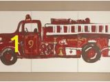 Fire Truck Mural 49 Best Fire Truck Nursery Images