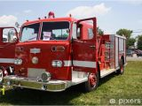Fire Truck Mural for Wall Antique Truck Wall Mural Vinyl