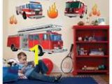 Fire Truck Mural for Wall Decorative Wall Stickers Shopstyle