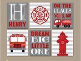Fire Truck Wall Murals Fire Truck Wall Art Fire Truck Decor Canvas or Prints