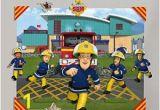 Fireman Sam Wall Mural Fireman Sam 3d Pop Out Wall Decoration Papercard Multi Colour 152