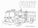 Firetruck Color Page Fdny Fire Truck Coloring Pages Free Printable Enjoy Coloring