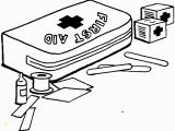 First Aid Coloring Pages Coloring Page