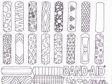 First Aid Coloring Pages for Kids Coloring Page Band Aid Invented Coloring Page for First Aid Badge