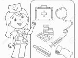 First Aid Kit Coloring Pages Free Unique First Aid Coloring Sheet Collection