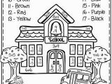 First Grade Coloring Pages Back to School First Grade Worksheets