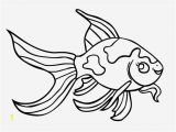 Fish Coloring Pages for Kids Simple Fish Outline Imededucation Outline