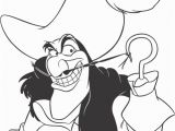 Fish Hooks Coloring Pages to Print Peter Pan S Captain Hook Coloring Page