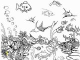Fish Tank Coloring Page Fish Free Clipart 126