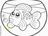 Fish Tank Coloring Page Goldfish Coloring Page