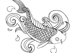 Fish with Scales Coloring Page Coloring Page Fish Printable Kids Colouring Pages