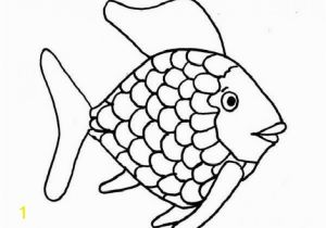 Fish with Scales Coloring Page Kids Printable Rainbow Fish Coloring Page Free