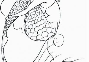 Fish with Scales Coloring Page Mermaid Coloring Page 10 Coloring Pinterest