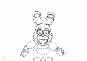Five Nights at Freddy S Bonnie Coloring Pages F Naf toy Bonnie Coloring Pages