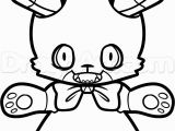Five Nights at Freddy S Bonnie Coloring Pages How to Draw Bonnie From Five Nights at Freddys Step 9