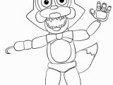 Five Nights at Freddy S Coloring Pages Foxy Fascinating Five Nights at Freddy S Coloring Pages Foxy Fnaf Free 12