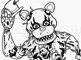 Five Nights at Freddy S Coloring Pages Foxy Image for Fnaf 4 Coloring Sheets Nightmar Freddy