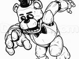 Five Nights at Freddy S Coloring Pages Print Freddy Five Nights at Freddys Fnaf Coloring Pages