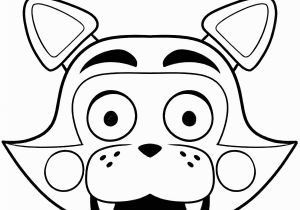 Five Nights at Freddy S Coloring Pages to Print Fnaf Coloring Pages Printable New Print Freddy Five Nights at
