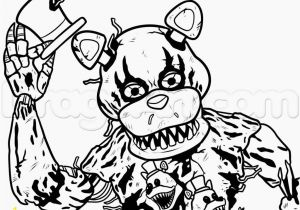 Five Nights at Freddy S Coloring Pages to Print Image for Fnaf 4 Coloring Sheets Nightmar Freddy
