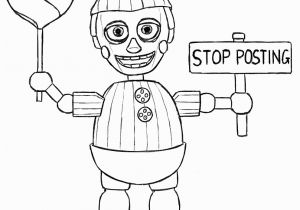 Five Nights at Freddy S Coloring Pages to Print Informative Fnaf Coloring Pages Printable Prin Unknown