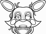 Five Nights at Freddy S Printable Coloring Pages Beautiful Mangle Cute Fnaf Coloring Pages
