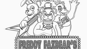 Five Nights at Freddy S Printable Coloring Pages Coloring for Little Kids In 2020