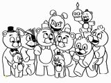 Five Nights at Freddy S Printable Coloring Pages Fnaf Coloring Pages to Print with Images