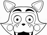 Five Nights at Freddy S Printable Coloring Pages Fnaf Freddy Five Nights at Freddys Foxy Coloring Pages